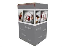 Cartons Bib Bag in Box 5L Flexo HD Verre Elégant