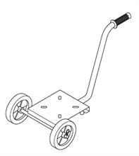 Chariot pour pompe EP inox 304