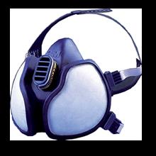 Masque phytos 4255 3M™ avec cartouches A2P3