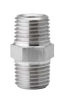 Raccords doubles mâles GAZ pour injecteurs inox 304L